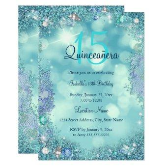 Teal Blue Ocean Sky Birthday Party