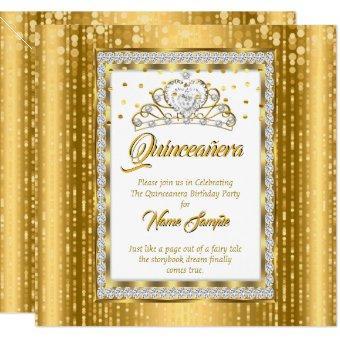 Regal Princess Gold White Diamond