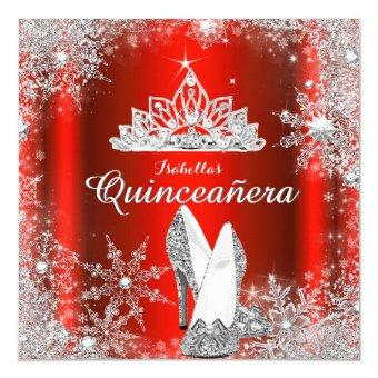 Tiara Quinceanera Invitations Quinceanera Invitations