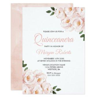 Romantic Blush Pink Rose Party