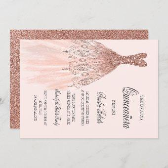 Rose Gold Sparkle Dress