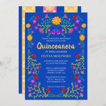 Royal Blue Fiesta Party Mexican