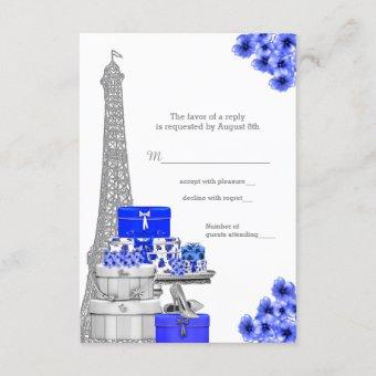 Royal Blue Paris RSVP
