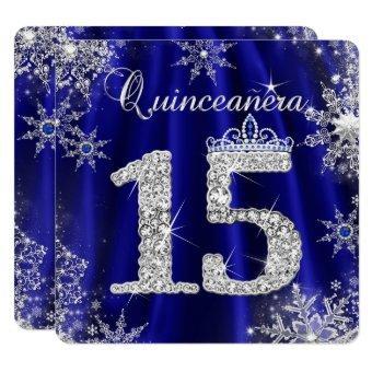 Royal Blue 15th Elite Elegant Birthday
