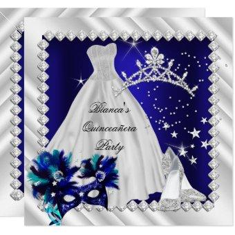 Royal Blue 15th Masquerade Party