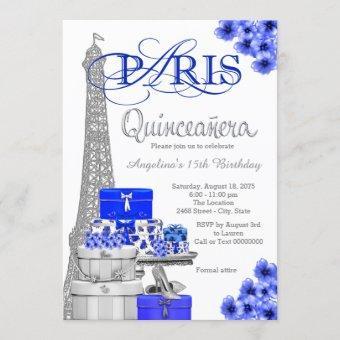 Royal Blue Silver Paris
