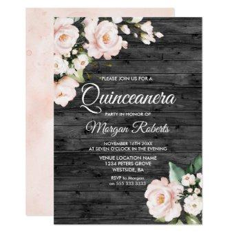 Rustic Blush Pink & White Floral Party
