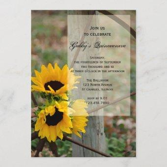 Rustic Sunflowers Party