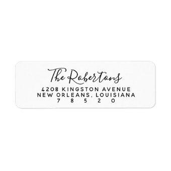 Script Name Return Address Labels