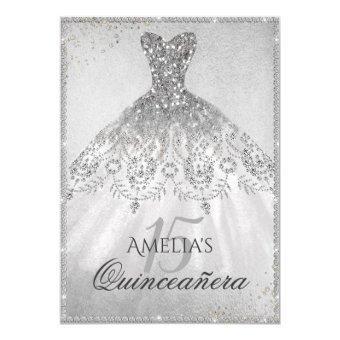 Silver Dress Sparkle