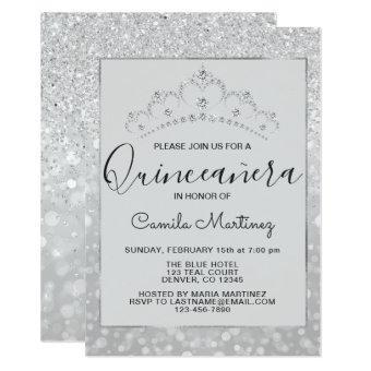 Silver Girly Glitter Sparkle