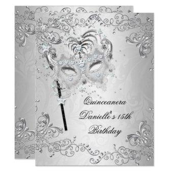 Silver 15th Birthday Masquerade