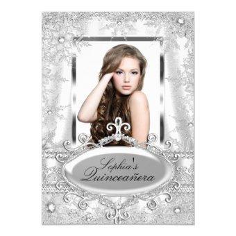 Silver Sparkle Jewel Snowflake