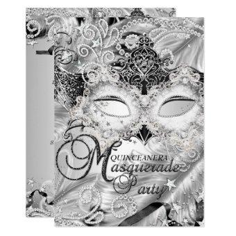 Silver Sparkle Mask Masquerade