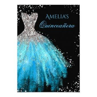 Sparkle Dress Blue