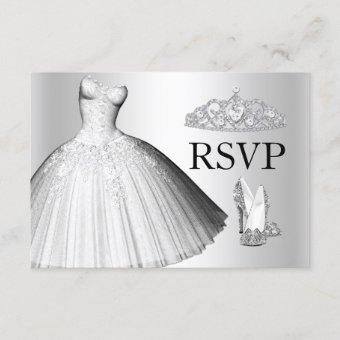 Sparkle Glitter Dress & Heels RSVP
