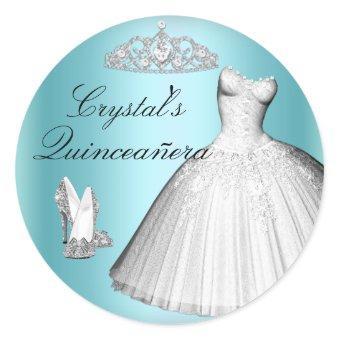 Sparkle Glitter Dress & Heels Sticker