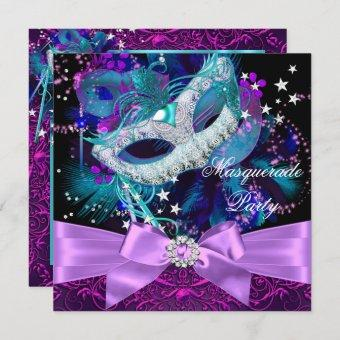 Sparkle Mask Bow Masquerade Party