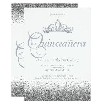 Stunning Silver Quinceañera