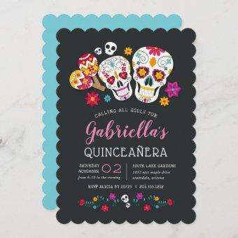 Sugar Skulls Day of the Dead Theme