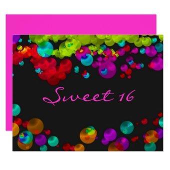 Sweet Sixteen Bat Mitzvah Neon