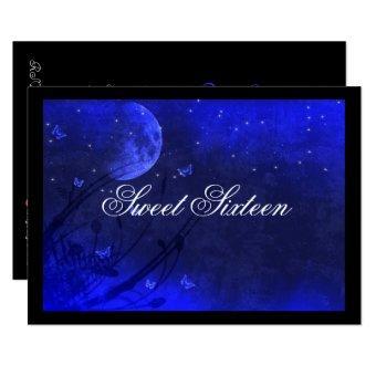 Sweet Sixteen, Enchanted Evening, Blue