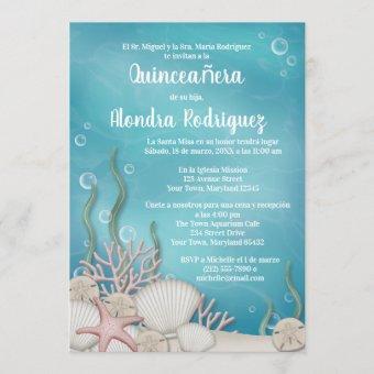 Under the Sea (Bajo el mar) Quinceañera