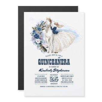 Western Country 15th Birthday Quinceañera Magnetic